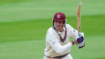 Craig Overton fell one short of a maiden hundred