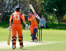 Michael Swart top scored with 62, Scotland v Netherlands, 1st one-dayer, Glasgow, July 1, 2014