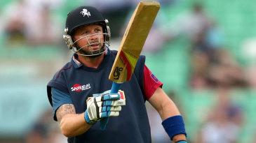 Darren Stevens hit an unbeaten 56 off 38 balls
