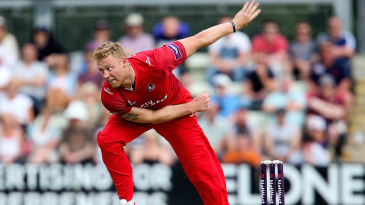 Andrew Flintoff finished with 2 for 36