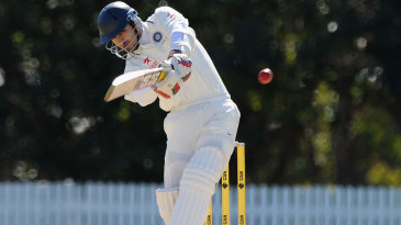 Naman Ojha plays to the leg side