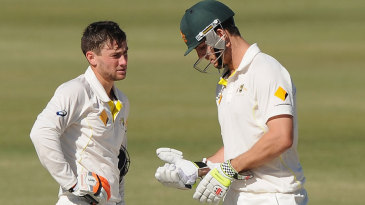 Sam Whiteman and Mitchell Marsh shared a 371-run partnership