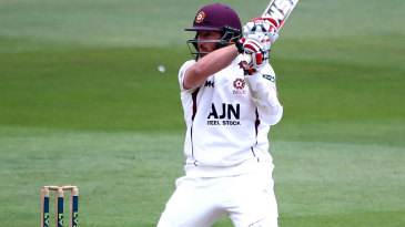 Steven Crook struck eight fours and a six in a 46-ball fifty