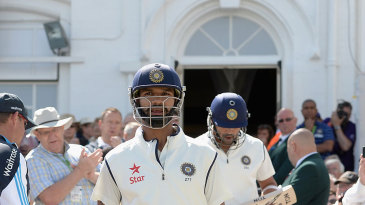 India's openers stride out to begin the Test series