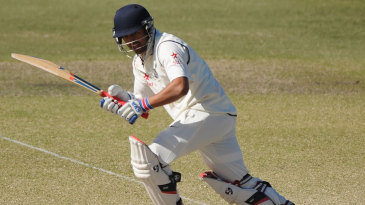 Karun Nair plays to the leg side