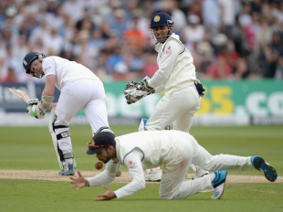India's slip catching went from bad to worse as the series progressed