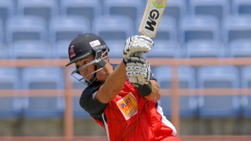 Ross Taylor drives on his way to 62