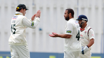 Andre Adams picked up four wickets