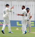 Andre Adams picked up four wickets, Lancashire v Nottinghamshire, County Championship, Division One, Aigburth, 1st day, July 13, 2014