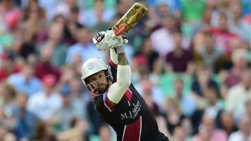 Peter Trego top-scored for Somerset