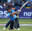 Craig Cachopa hits out, Sussex v Glamorgan, NatWest T20 Blast, Hove, July 15, 2014