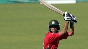 Sikandar Raza cracks one through point