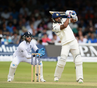 M Vijay blunted England with a crucial fifty