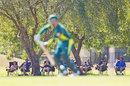 Spectators at the Marrara Oval enjoy a ring-side view, Australia A v India A, Quadrangular A-Team One-Day Series, Darwin, July 20, 2014
