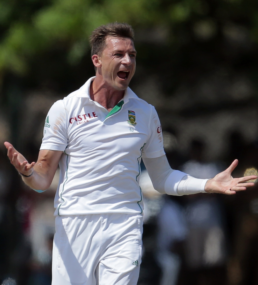 Dale Steyn claimed nine wickets in the match