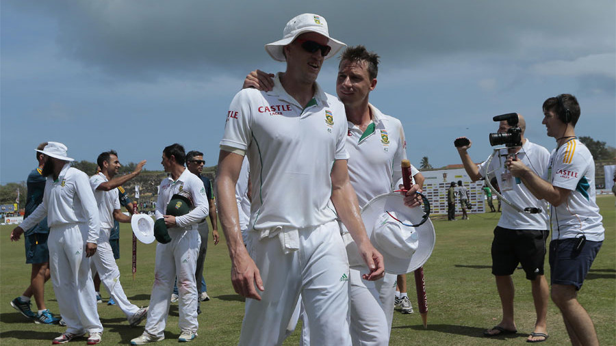 Hunting in pairs: Dale Steyn and Morne Morkel took 16 wickets