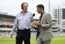 Jonathan Agnew and Rahul Dravid discuss the match on radio, England v India, 2nd Investec Test, Lord's, 4th day, July 20, 2014