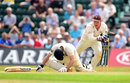 Brendan Nash was stumped by Gary Wilson, Surrey v Kent, County Championship, Division Two, Guildford, 1st day, July 20, 2014