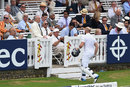 Matt Prior on his way back to the dressing room, England v India, 2nd Investec Test, Lord's, 5th day, July 21, 2014