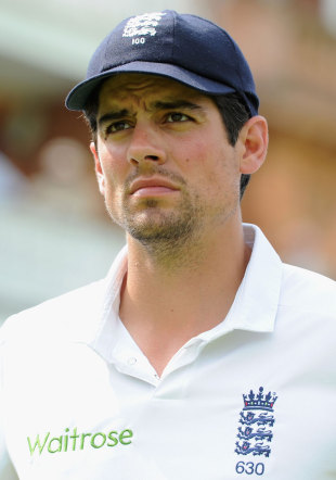 Alastair Cook has continued to strug