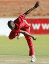 Donald Tiripano finished with 5 for 63, Zimbabwe v Afghanistan, 4th ODI, Bulawayo, July 24, 2014