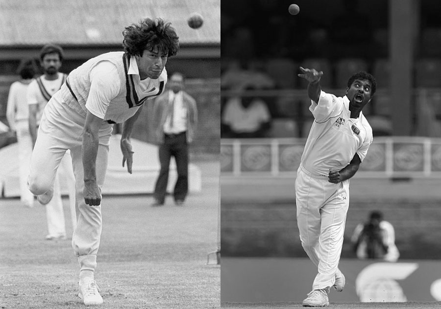 Muttiah Muralitharan got more wickets and Imran Khan averaged better during their peak years than Sydney Barnes - considered the best bowler by his contemporaries - did in his best years