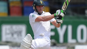 AB de Villiers countered the bouncers with pull shots