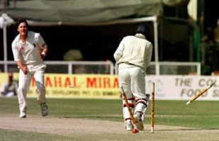 India v South Africa , 3rd Test match, Kanpur, 8 - 12 December 1996