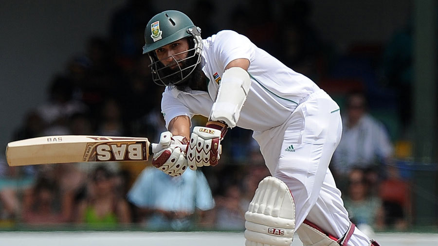 Hashim Amla's 22nd Test century was the second slowest of his career