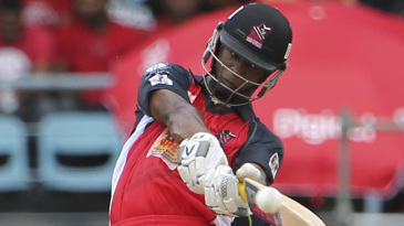 Evin Lewis hit eight sixes on his way to 72