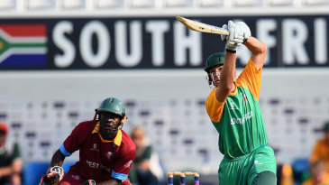 Johan Wessels goes over the top