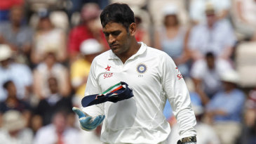 MS Dhoni's leg-side traps for England against spin hardly worked