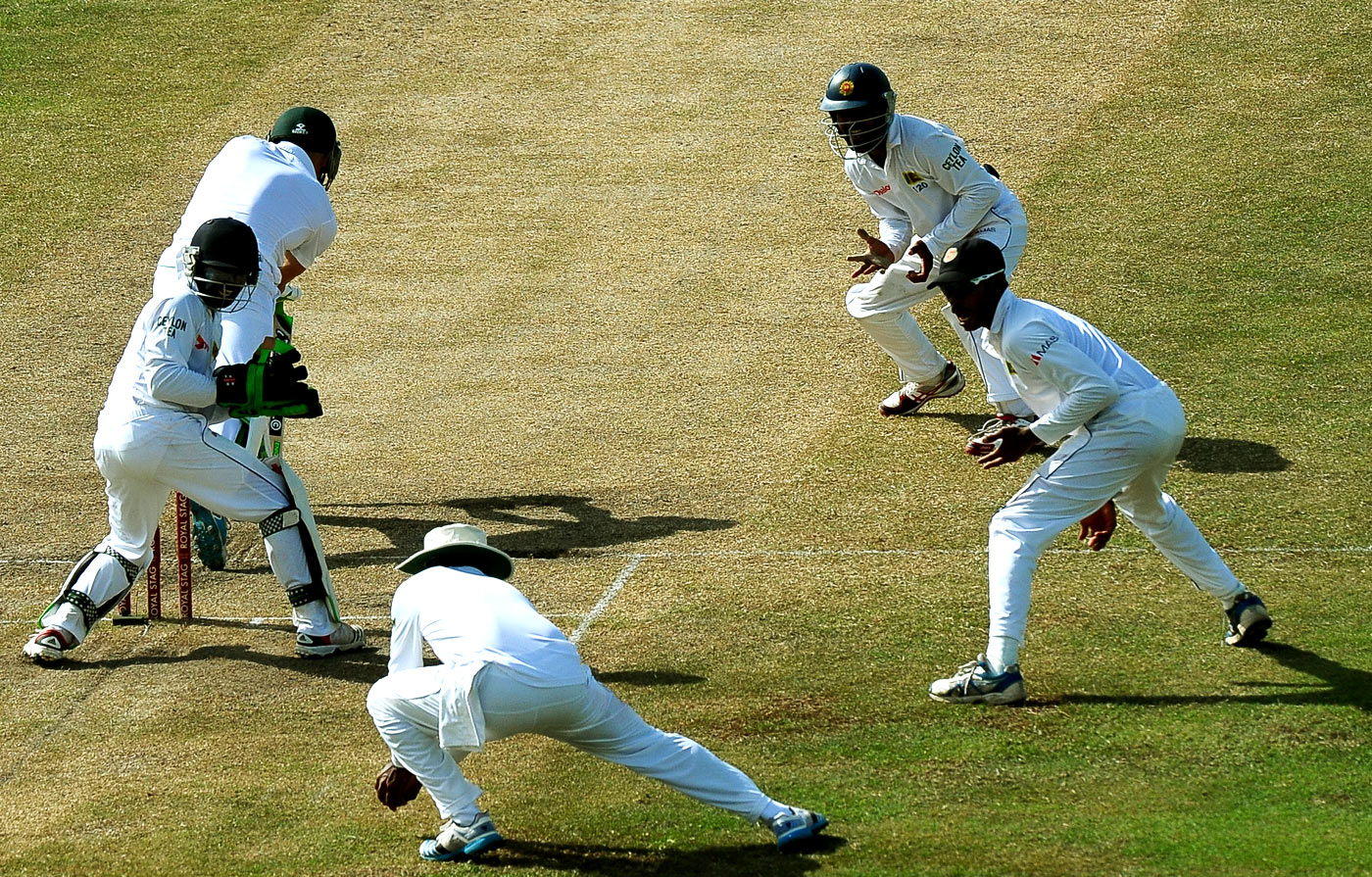 Against Sri Lanka you faced flight, turn, deception and a human snare in the form of Jayawardene