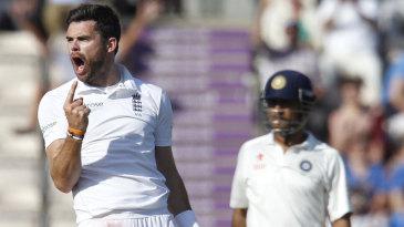 James Anderson was delighted at removing Ravindra Jadeja