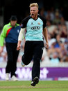 Matt Dunn bowled with eye-catching pace, Surrey v Worcestershire, NatWest T20 Blast quarter-final, The Oval, August 2, 2014