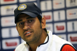 MS Dhoni talks to the media, The Oval, August 17, 2011