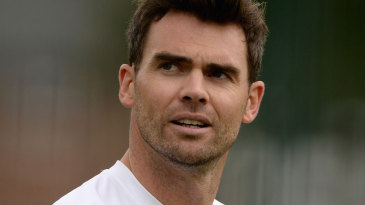 James Anderson prepares for his home Test