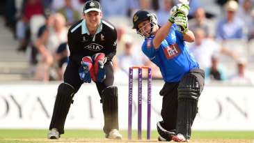 Craig Cachopa made 58 in Sussex's solid total