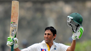 Younis Khan signals his 150