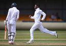 Sibonelo Makhanya made regular breakthroughs, England U-19s v South Africa U-19s, 2nd Youth Test, Wantage Road, 2nd day, August 8, 2014
