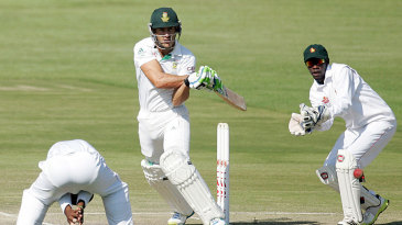 Faf du Plessis forces one past forward short leg