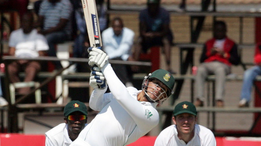 Quinton de Kock goes over the top