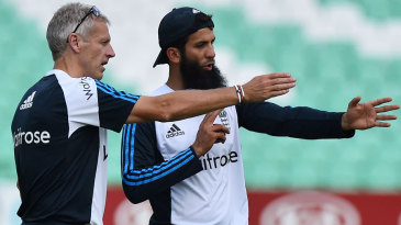 Peter Moores and Moeen Ali have got England going in the right direction