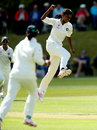 Nagarajan Niranjana picked up 4 for 19, England Women v India Women, Only Test, Wormsley, 1st day, August 13, 2014