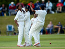 Nagarajan Niranjana ran through England's top order, England Women v India Women, Only Test, Wormsley, 1st day, August 13, 2014