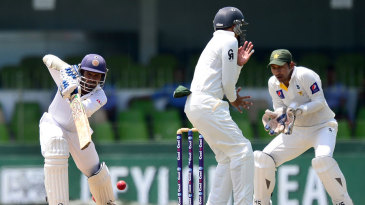 Upul Tharanga struck 12 fours during his 92