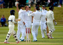 Kate Cross finished with 3 for 29, England Women v India Women, Only Test, Wormsley, 2nd day, August 14, 2014