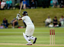 Niranjana Nagarajan targets the leg side, England Women v India Women, Only Test, Wormsley, 2nd day, August 14, 2014
