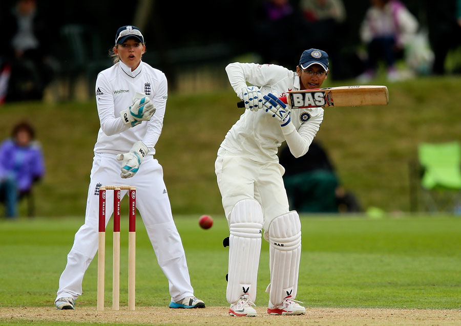 Smriti Mandhana's maiden Test fifty gave India a solid head-start in the chase