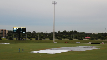 Central Broward Regional Park was left under covers after persistent rain